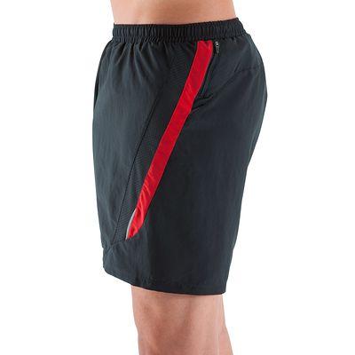Short Running homme Elio noir rouge