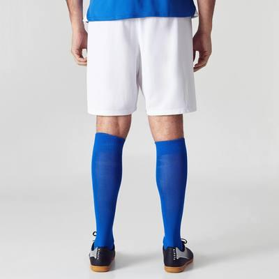 Short de football adulte F100 blanc