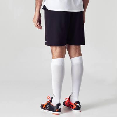 Short de football adulte F100 noir