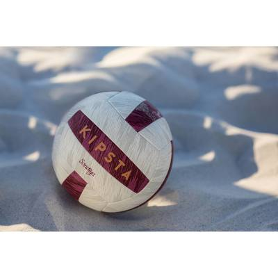 Ballon de beach-volley Sandiya rouge