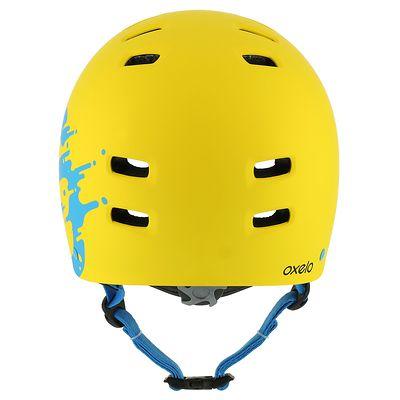 Casque roller skateboard trottinette vélo MF 7 jaune