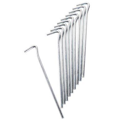 Piquets de tente : acier 18 cm (x10)