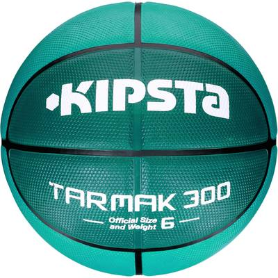 Ballon de Basketball Tarmak 300 taille 6 turquoise