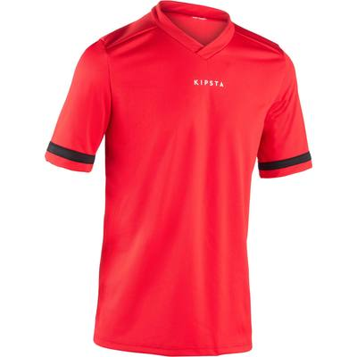 Maillot rugby adulte Full H 100 rouge