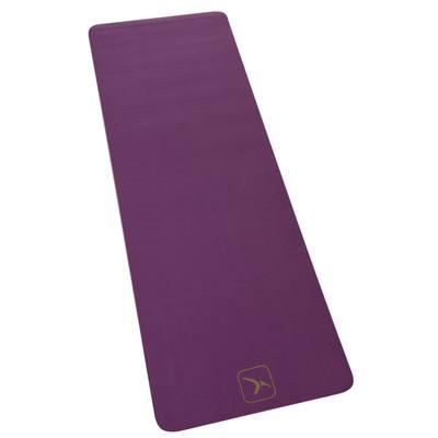 Tapis de yoga COMFORT épaisseur 8 mm violet