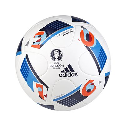 BALLON FOOTBALL EN BOITE TOP REPLIQUE OFFICIEL EURO 2016 BLANC