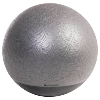 SWISS BALL ANTI ECLATEMENT ET STABLE PILATES GRIS