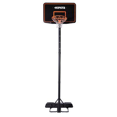 Panier de Basket enfant/adulte B300 noir orange. 2,20m à 3,05m.
