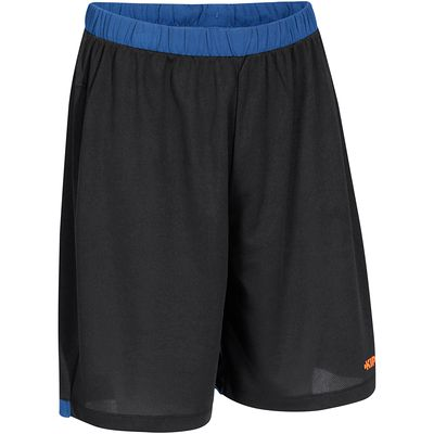 Short basketball homme B500 navy noir orange