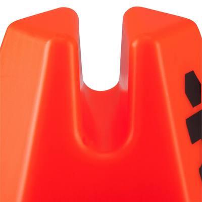 Lot 6 cônes modulables 15cm orange