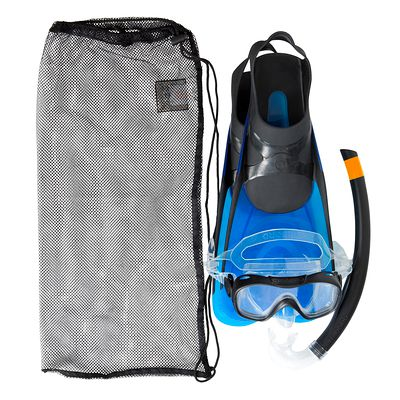 KIT SNORKELING CARAIBES 100 ADULTE