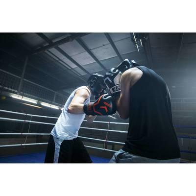 Boxing Gloves 300 Blancs, gants d'entraînement débutant homme femme