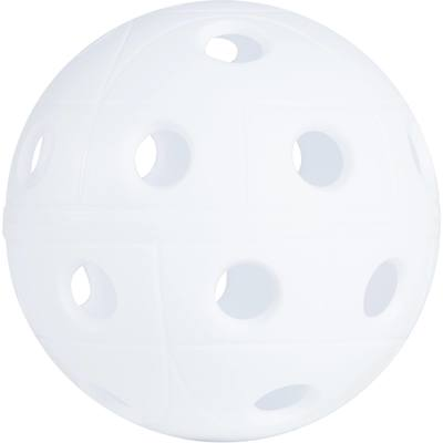 BALLE FLOORBALL 500 BLANC