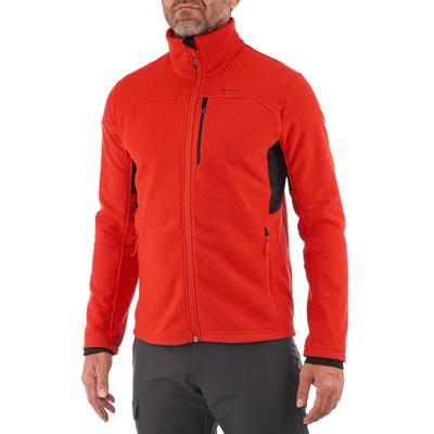 Polaire randonnée homme Forclaz 500 rouge