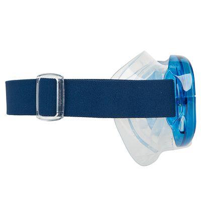Masque de snorkeling ou de plongée bouteille 100+ Bleu
