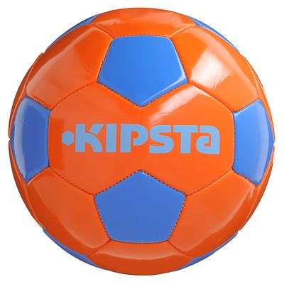 BALLON DE FOOTBALL FIRST KICK TAILLE 3 ORANGE