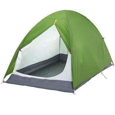 Tente de camping arpenaz 2 personnes vert
