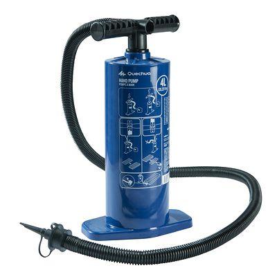 Pompe à main 4 Litres bleu