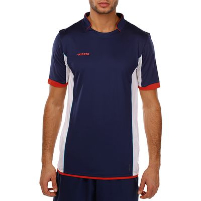 Maillot football adulte F500 bleu