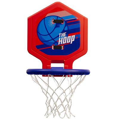 panier de basket enfant adulte the hoop 500 ballon bleu. Black Bedroom Furniture Sets. Home Design Ideas