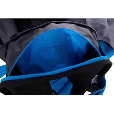Sac de sports collectifs Kipocket 40 litres gris foncé bleu