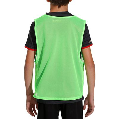 Chasuble sports collectifs enfant vert