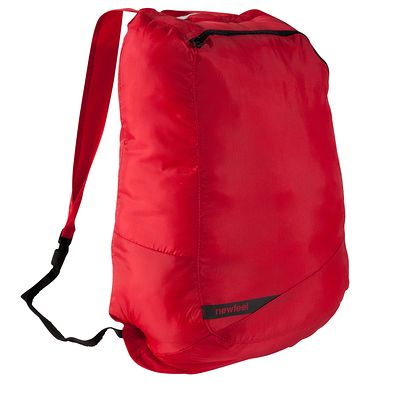 SAC À DOS PLIABLE NEWFEEL POCKET ROUGE