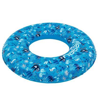 Bouée gonflable bleu 65 cm imprimé pour enfants de 6-9 ans