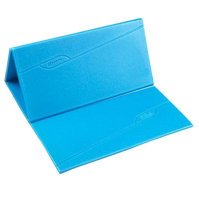 Tapis de sol fitness pliable FOLD bleu