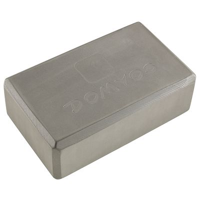 YOGA BLOCK MOUSSE  GRIS