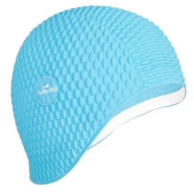 Bonnet gaufre bleu