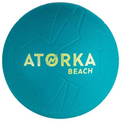 Ballon de beach handball HB500B taille 3 bleu