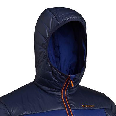 Doudoune randonnée homme X-Light 1 bleu foncé
