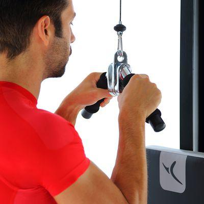 Barre de triceps en V