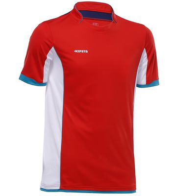 Maillot de football adulte F500 rouge