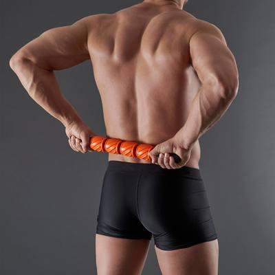 Bâton de récupération noir orange