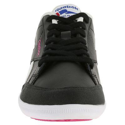 Chaussures marche active femme Royal Transport noir / blanc