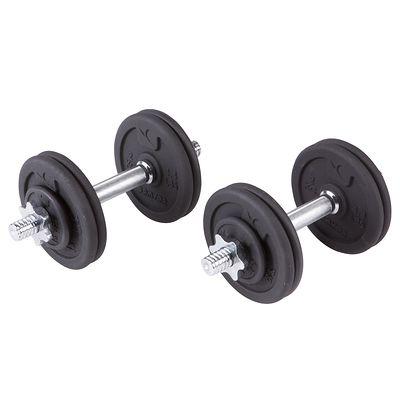 Kit haltères et barres musculation 50 kg
