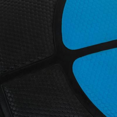 Ballon basketball adulte Tarmak 300 taille 7 bleu fluo noir