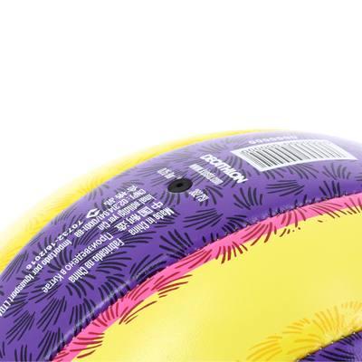 Ballon de beach-volley extérieur  Rio Illusion jaune