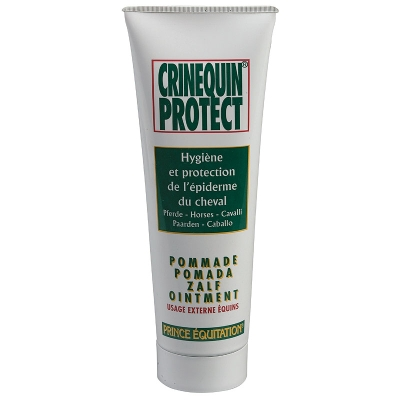 Baume pour la peau équitation cheval et poney CRINEQUIN PROTECT 200 GR