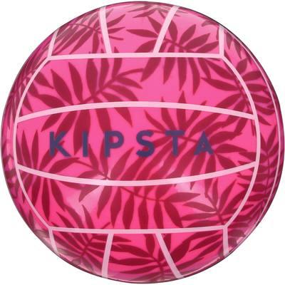 Mini ballon de beach-volley extérieur BV100 Rose Feuille