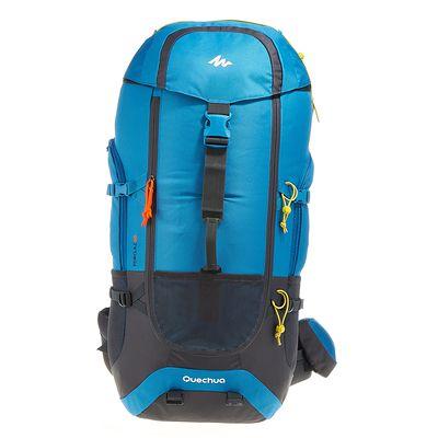 Sac à Dos FORCLAZ 60 Bleu pour la randonnée sur plusieurs jours: