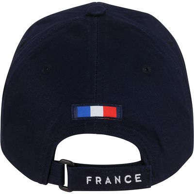 Casquette supporter adulte FP300 France bleu