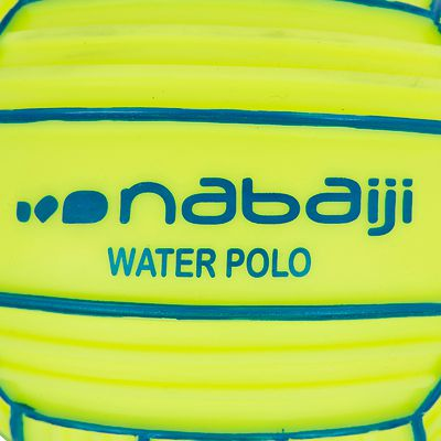 Petit ballon aquatique adhérent jaune