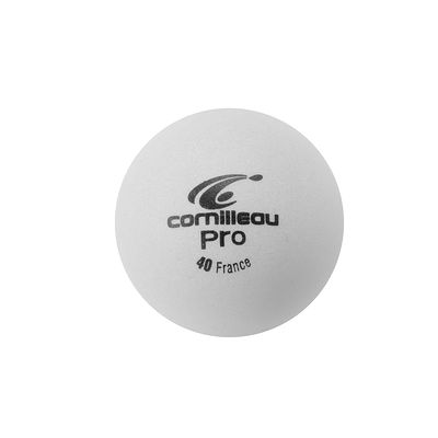 72 BALLES DE TENNIS DE TABLE CORNILLEAU PRO 1* BLANCHE OU ORANGE.