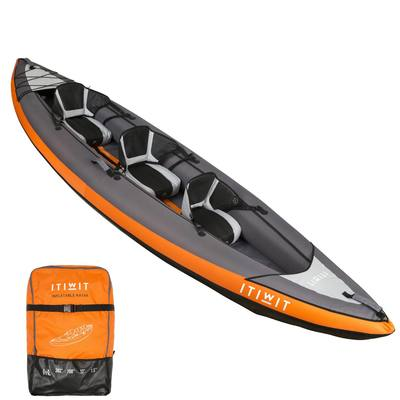 KAYAK GONFLABLE 2/3 PLACES NEW ITIWIT 3 ORANGE