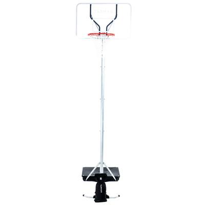 Panier de Basket enfant/adulte B100 pro. 2,60m à 3,05m. Planche type plexi.