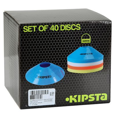 SET DE 40 COUPELLES DE SPORT PLATES