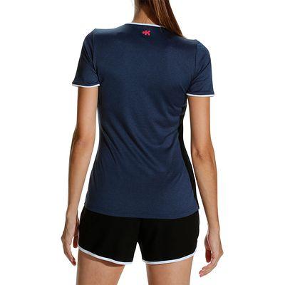 Maillot de volley-ball femme V100 bleu